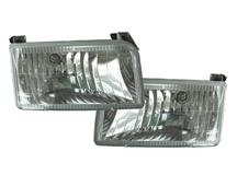 SVT Lightning Clear Diamond Headlights (93-95)