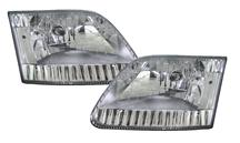 SVT Lightning Clear Diamond Headlights (99-04)