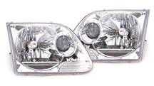 SVT Lightning Chrome Projector Headlights (99-04)