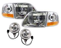 F-150 SVT Lightning Headlight & Foglight Kit (99-00)