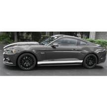 Mustang Triple Rocker Side Stripe Kit Gloss White (15-16)
