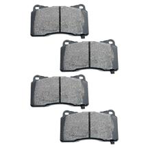 Mustang Hawk Street/Race Front Brake Pads w/ Brembo Calipers (07-14)