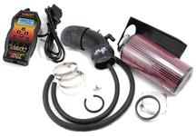 SVT Lightning JLT Big Cold Air Intake Tuner Kit w/ SCT SF3 Tuner (99-04)
