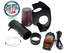 JLT Carbon Fiber 127mm Intake Tuner Kit (10-12)