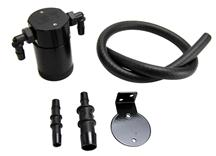 Mustang JLT Oil Separator, Driver's Side Black Anodized (99-04) 4.6L 4V