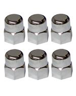 Mustang Strut Stud Nut Covers Chrome (82-93)