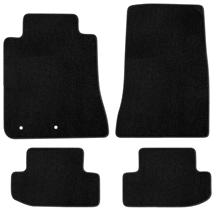 Mustang Lloyd Floor Mats - No Logo Black (2015)