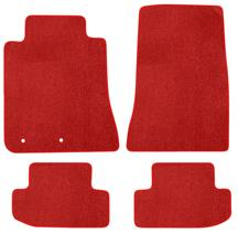 Mustang Lloyd Floor Mats - No Logo Red (2015)