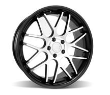 Mustang Downforce Wheel - 20x8.5 Matte Black w/ Machined Face (05-15)