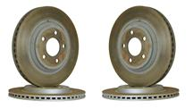 2005-10 Ford Mustang GT Factory Takeoff Brake Rotor Set.  2 Front GT rotors and 2 Rear GT rotors the same as LRS-0510bk-kit, minus pads