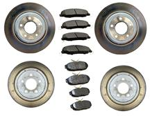 Mustang Take Off Brake Rotor & Pad Kit (05-10) 4.6