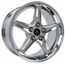 1994-04 Mustang Chrome Cobra R  Wheel - 17X9