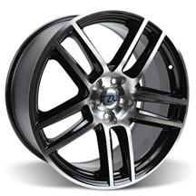 Mustang Boss 302 S Wheel 19X9 Black Machined (05-15)