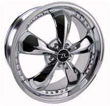 Mustang Bullitt Wheel, Motorsports Version - 20X8.5 Chrome (05-15)