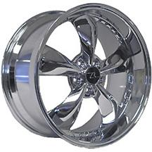 "Mustang Bullitt, Motorsports Version,  20X10"" Chrome (05-15)"