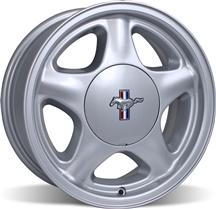 Mustang  Pony Wheel & Center Cap - 16X7 Silver (79-93)