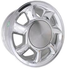 Mustang 5 Lug 93 Cobra Wheel RH - 17x8.5 Chrome (87-93)
