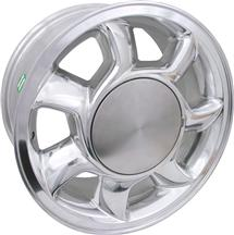 1979-93 Mustang Chrome RH 93 Cobra Wheel - 17X8.5