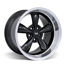 Mustang Deep Dish Bullitt Wheel - 17X10.5 Black (94-04)