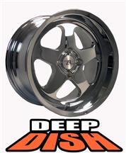 1979-93 Mustang Chrome Deep Dish Sc Style Wheel - 17X10