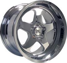1994-04 Mustang Chrome Deep Dish Sc Style Wheel - 17X10