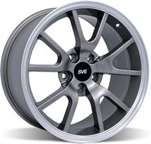Mustang Fr500 Wheel - 18X9 Anthracite (94-04)