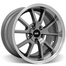 Mustang Deep Dish Fr500 Wheel - 18X10 Anthracite (94-04)