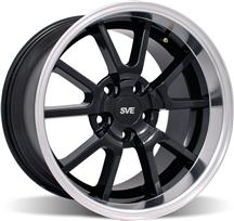 Mustang Deep Dish Fr500 Wheel - 18X10 Black (94-04)