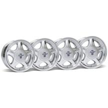 Mustang Pony Wheel & Center Cap Kit - 17x9/10 Chrome (79-93)