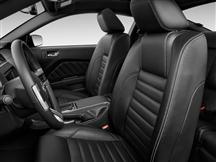 Mustang Leather Upholstery Kit Black (2011) Coupe