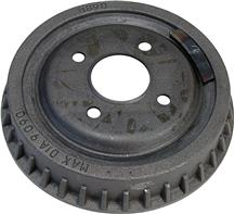 Mustang Finned 4-Lug Rear Brake Drum (79-93)