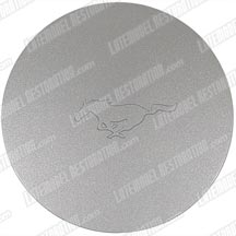 "Mustang 16"" V6 6 Spoke Center Cap Silver (99-04)"