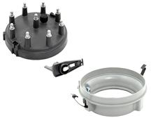 Mustang Distributor Cap, Rotor & Adapter Kit (86-93) 5.0
