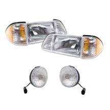 Mustang Headlight & Fog Light Kit (87-93)