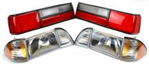 Mustang Headlight & LX Taillight Combo Kit (87-93)