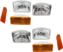 1979-86 Mustang 8 Piece Headlight Kit