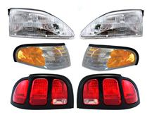Mustang Headlight & Taillight Starter Kit (96-98)