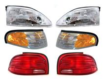 Mustang Headlight & Taillight Starter Kit (94-95)