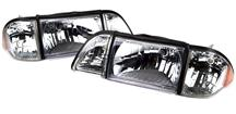 1987-93 Mustang Ultra Clear Headlight Kit