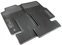 2005-09 MUSTANG RUBBER FLOOR MATS WITH PONY LOGO
