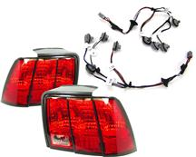 Mustang Sequential Taillight Assembly Kit (99-04)