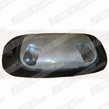1994-98 Mustang Black Dome Light Assembly, Does Not Include Lens