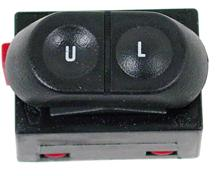 Mustang LH Door Lock Switch (87-93)