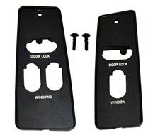 Mustang Window Switch Bezel Pair (87-93)