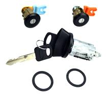 Mustang Ignition & Door Lock Set (96-04)