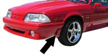 Mustang Front Fender Extension Left Hand  (91-93)