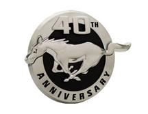 Mustang 40Th Anniversary Fender Emblem Left Hand  (2004)
