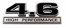 Mustang 4.6L High Performance Emblem Black  (96-10)