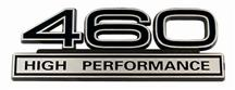 Mustang 460 High Performance Emblem Black