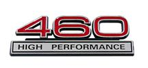 Mustang 460 High Performance Emblem Red